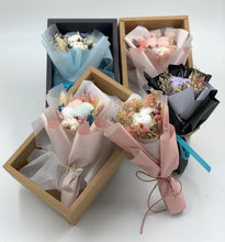 Load image into Gallery viewer, Cotton bouquet in box