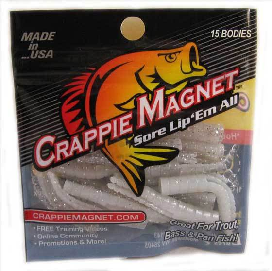 "Leland Crappie Magnet 1.5"" 15ct Percy"