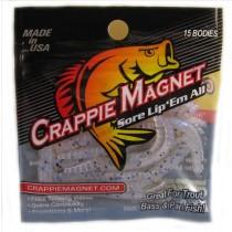 "Leland Crappie Magnet 1.5"" 15ct Sho-Nuff-Crappie Baits-Crappie Magnet Baits-Bass Fishing Hub"