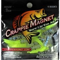 "Leland Crappie Magnet 1.5"" 15ct Sho Nuff Chart"
