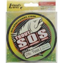 Leland Fishing Line 350yd 6lb Green