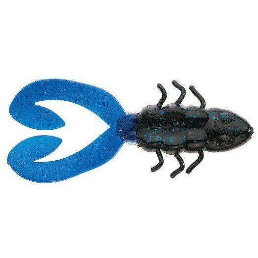 "Berkley Chigger Toad 4"" Black Blue DWO-Frogs-Berkley Tackle-Bass Fishing Hub"