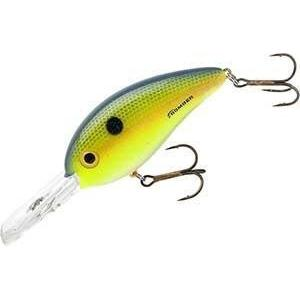 Bomber Fat Free Shad Deep Square Lip 1-2 Foxy Lady-Hard Baits-Bomber Baits-Bass Fishing Hub