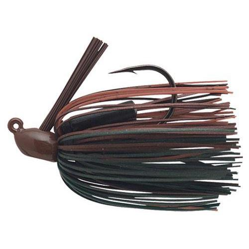 Booyah Boo Jig 11-4 Brown Emerald-Jigs-Booyah Baits-Bass Fishing Hub