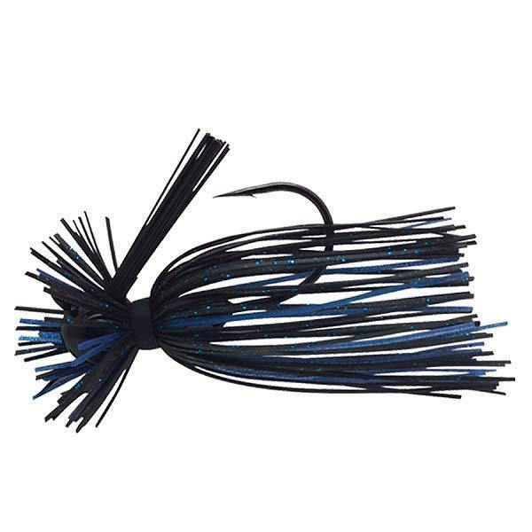 Booyah Pro Boo Bug-Jigs-Booyah Baits-Black-Blue DWO-3/16oz-Bass Fishing Hub