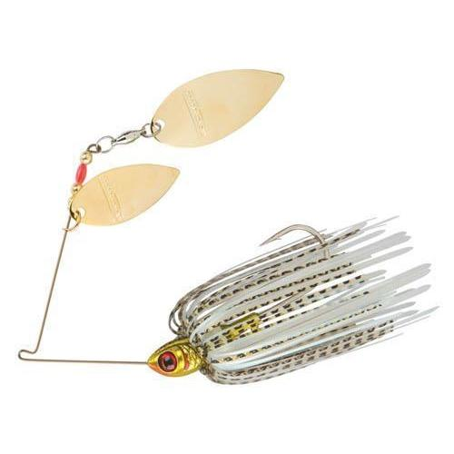 Booyah Vibra Flex Tandem Spinnerbait-Spinnerbaits-Booyah Baits-Golden Shiner-1/2oz-Bass Fishing Hub
