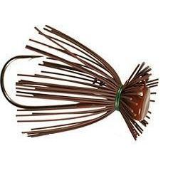Buckeye Finesse Jig-Jigs-Buckeye Baits-1/2oz-Brown-Bass Fishing Hub