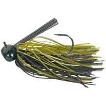 Buckeye Football Jig 3-4oz GreenPumpkin-Jigs-Buckeye Baits-Bass Fishing Hub