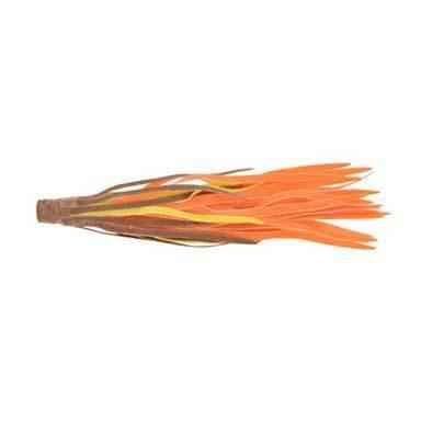 H&H Rubber Skirts Large 3ct Brown-Chartreuse-Orange-Lure Customization-H & H Baits-Bass Fishing Hub