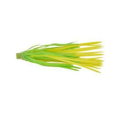 H&H Rubber Skirts Large 3ct Green-Chartreuse-Lure Customization-H & H Baits-Bass Fishing Hub