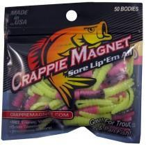 "Leland Crappie Magnet 1.5"" 15ct Glow Pop-Crappie Baits-Crappie Magnet Baits-Bass Fishing Hub"