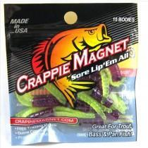 "Leland Crappie Magnet 1.5"" 15ct The Therapist-Crappie Baits-Crappie Magnet Baits-Bass Fishing Hub"
