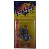Leland Crappie Magnet Replacement Heads 5ct 1-32oz Unpainted-Crappie Baits-Crappie Magnet Baits-Bass Fishing Hub