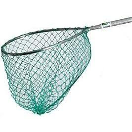 Mid Lakes Replacement Net Green 16x18-Accessories-Mid-Lakes Nets-Bass Fishing Hub