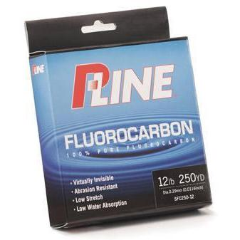 P-Line Fluorocarbon 100%-Fishing Line-P-Line-10lb-Bass Fishing Hub