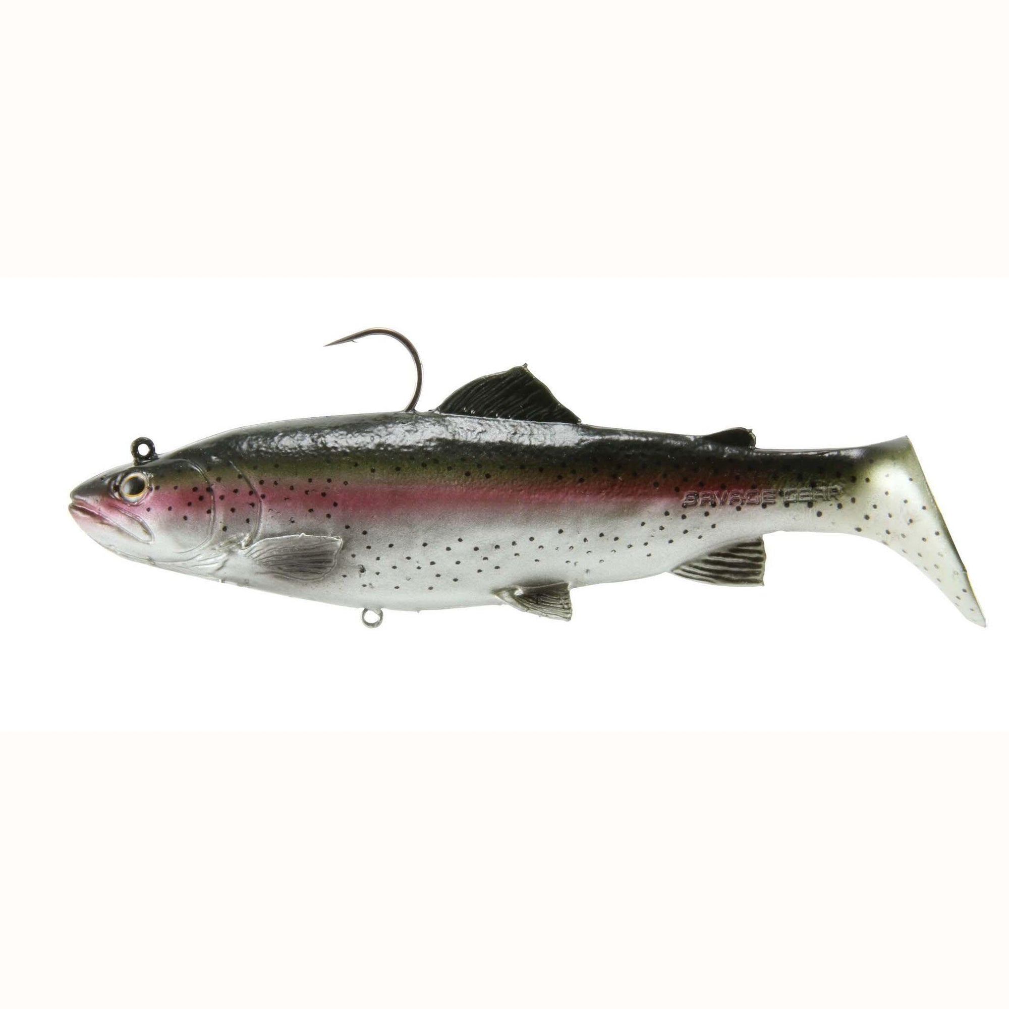 "Savage Gear 3D Real Trout 8"" 3.5oz Slow Sinking Dark Trout-Swimbaits-Savage Gear Baits-Bass Fishing Hub"