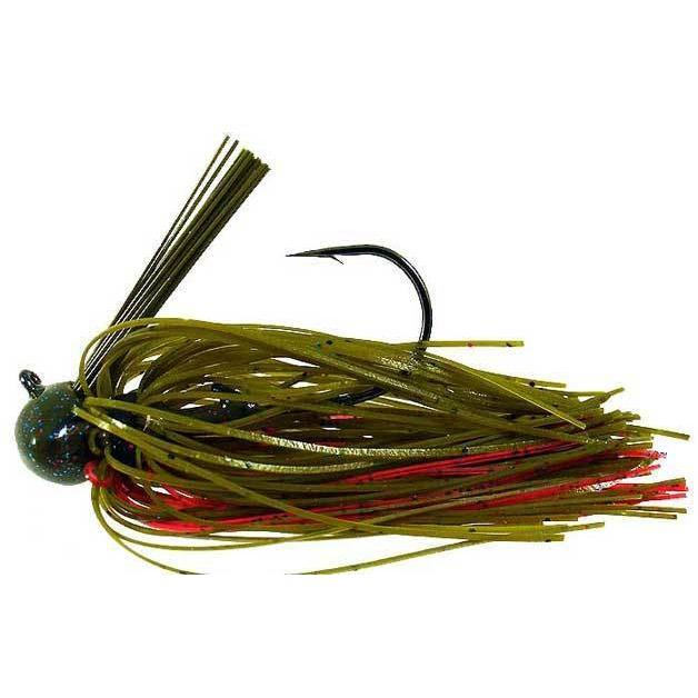 Strike King Football Jig-Jigs-Strike King Baits-Plum Crazy-1/4oz-Bass Fishing Hub