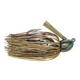 Strike King Hack Attack Fluro Jig 3-8oz Blue Craw-Jigs-Strike King Baits-Bass Fishing Hub
