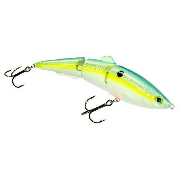 Strike King Sexy Swimmer Chartreuse Sexy Shad DWO-Swimbaits-Strike King Baits-Bass Fishing Hub