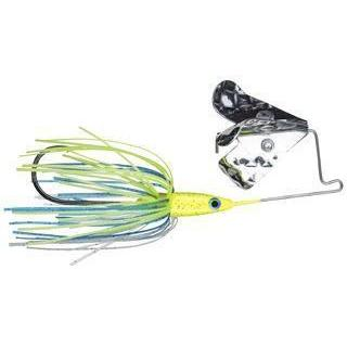 Strike King Tri Wing Buzz Bait-Buzz Baits-Strike King Baits-Chartreuse Blue-1/8oz-Bass Fishing Hub