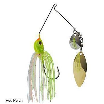 Z-Man Slingbladez Spinnerbait 1-2 Wil-Col Red Perch-Spinner Baits-Z-Man Baits-Bass Fishing Hub