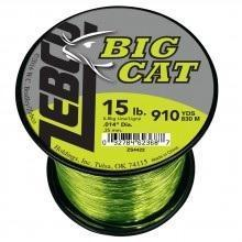 Zebco Big Cat Line HiVis Yellow-Fishing Line-Zebco Brands-15lb-Bass Fishing Hub