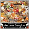 Pink Paradox Autumn Sunglow Scrap Kit