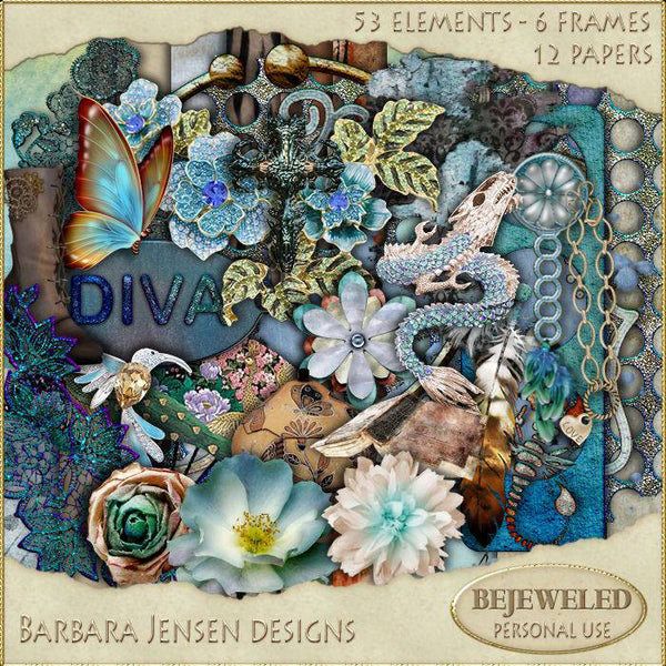 BJD Bejeweled Scrap Kit