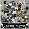 Pink Paradox Celestial Warrior Scrap Kit