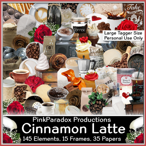 Pink Paradox Cinnamon Latte Scrap Kit