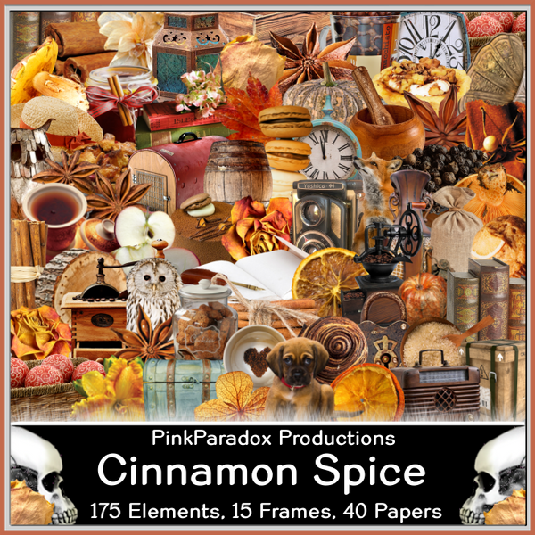 Pink Paradox Cinnamon Spice Scrap Kit