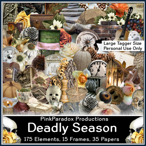 Pink Paradox Deadly Season Scrap Kit