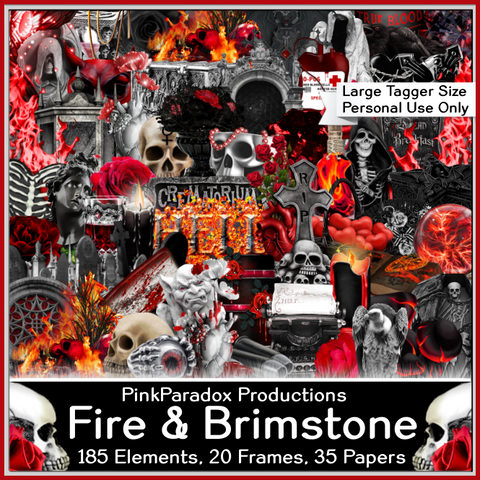 Pink Paradox Afternoon Fire and Brimstone Kit