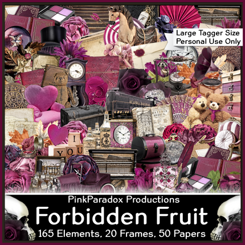 Pink Paradox Forbidden Fruit Scrap Kit