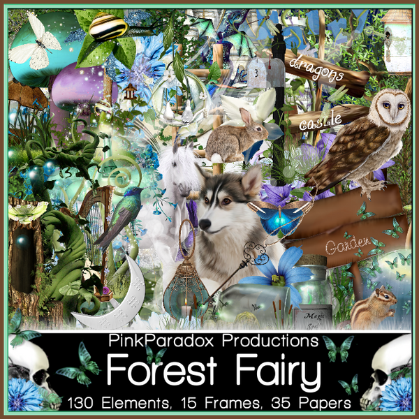 Pink Paradox Forest Fairy-non exclusive