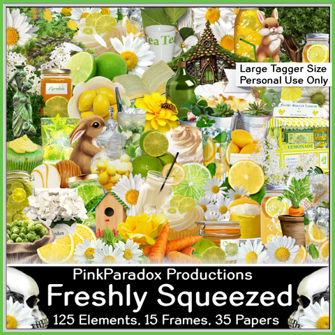 Pink Paradox Freshly Squeezed Scrap Kit