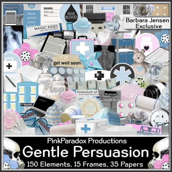 Pink Paradox Gentle Persuasion Exclusive Scrap Kit