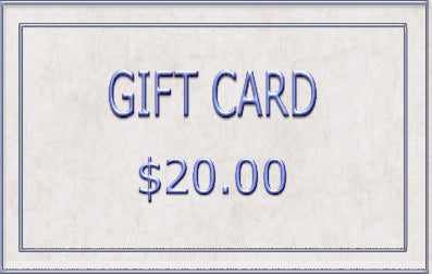 20.00 Gift Card