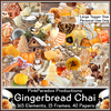 Pink Paradox Gingerbread Chai Scrap Kit
