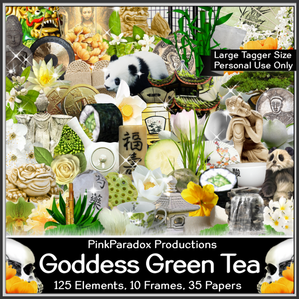 Pink Paradox Goddess Green Tea Scrap Kit