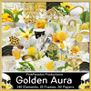 Pink Paradox Golden Aura Scrap Kit