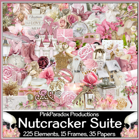 Pink Paradox Nutcracker Suite Scrap Kit