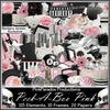 Pink Paradox Peek A Boo Pink Scrap Kit