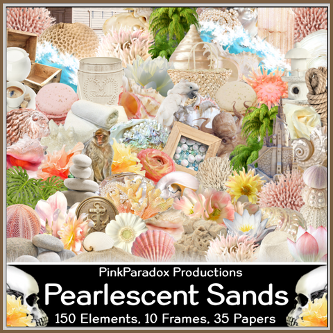 Pink Paradox Pearlescent Sands Scrap Kit