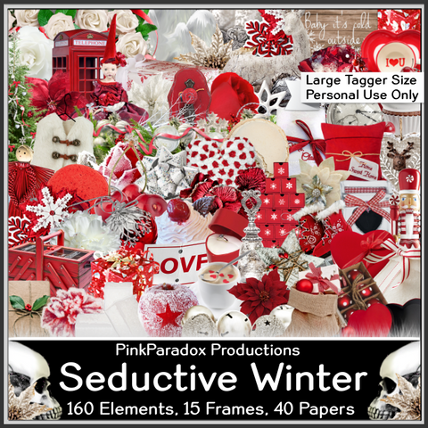 Pink Paradox Seductive Winter Scrap Kit