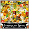 Pink Paradox Steampunk Spring Scrap Kit