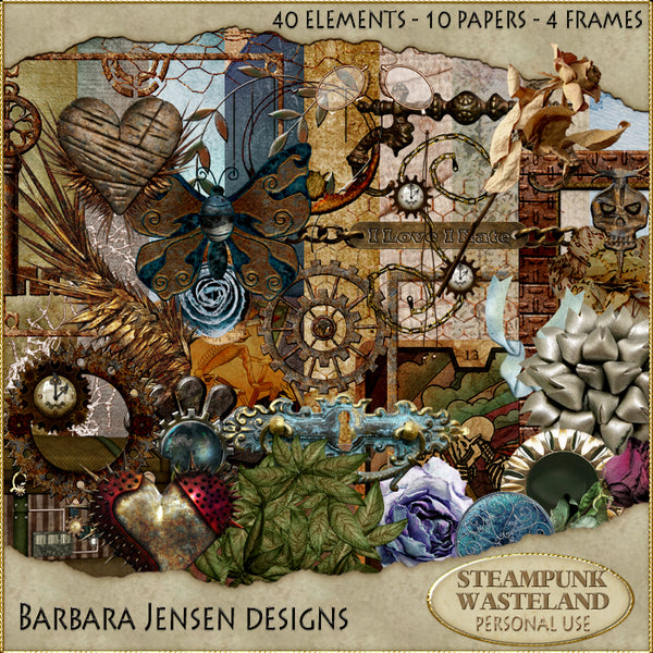 Steampunk Wasteland Scrap Kit