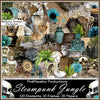 Pink Paradox Steampunk Jungle Scrap Kit