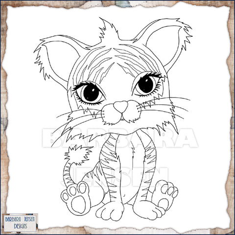 Tiggy Tiger Coloring Page