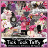 Pink Paradox Tik Tok Taffy Scrap Kit
